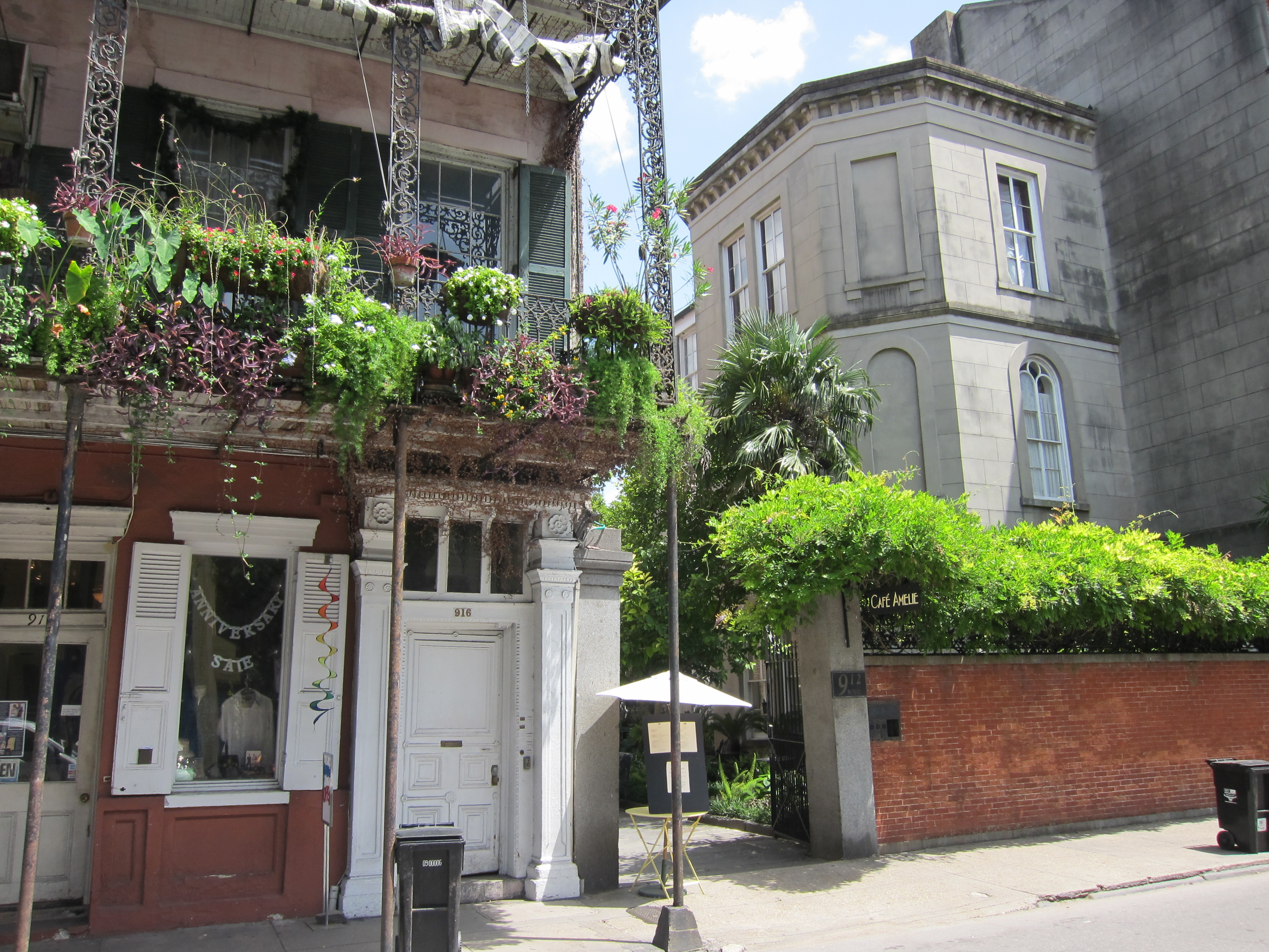 Cafe Amelie French Quarter New Orleans