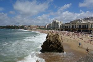 La Grande Plage, Biarritz.